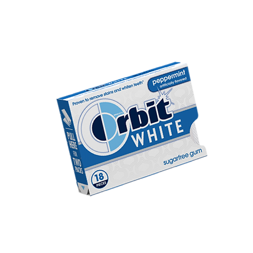Orbit White Peppermint 8x18 CT