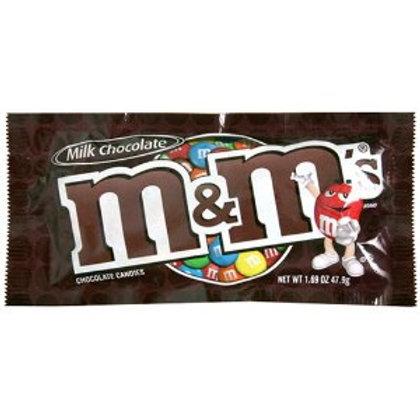 M&M Chocolate Single 8/48