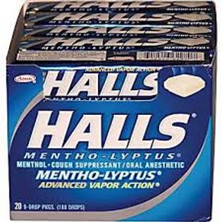 Halls Mentho-Lypts 24/20ct