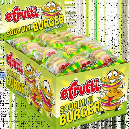 Efrutti Sour Burger 1/6/60's #513