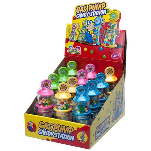 Kidsmania #126 Gas Pump Candy Station 12/12's