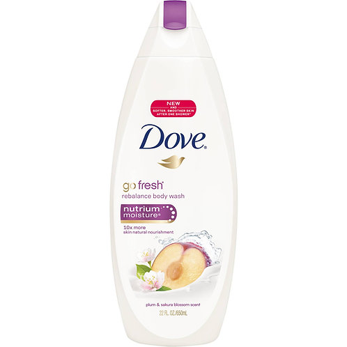 Dove Body Wash Rebalance 500 ML 1/12 ct