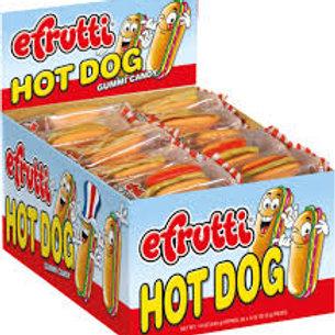 Efrutti Hot Dog 1/6/60's #505