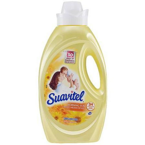 Suavitel 64oz Yellow Morning Sun 1.89 L 1/6