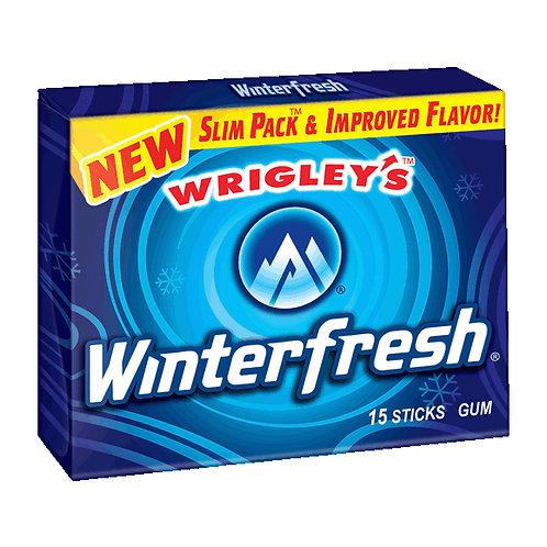 Wrigley's Slim Pack Winterfresh 15's 12/10's CT