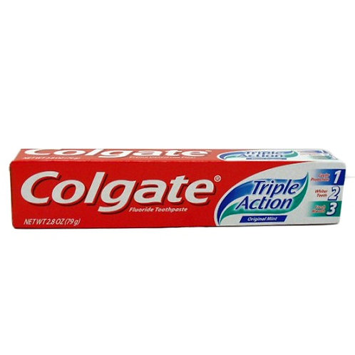 Colgate TP Triple Action 2.8 Oz 24's #210