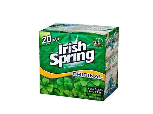 Irish Spring Soap 4/20 ct