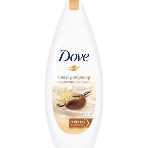 Dove Body Wash Shea Butter 500 ml 1/12ct