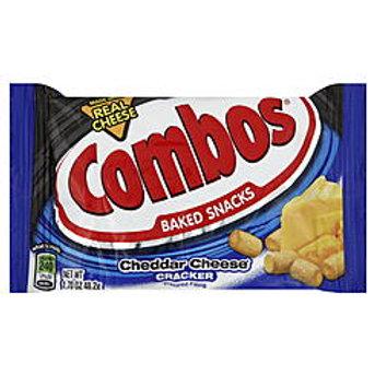 """Combos Cheddar Cheese """"Cracker"""" 12/18 1.8oz"""