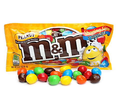 M&M's Peanut King Size 6/24 CT