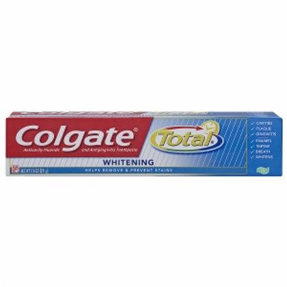 Colgate Total 7.8OZ. Whitening Paste 1/24. #76326
