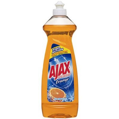 Ajax 12.6 Antibarterial/Orange Dish Liquid Dergent