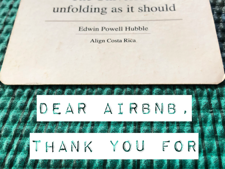 Day 22: An ode to being on Airbnb
