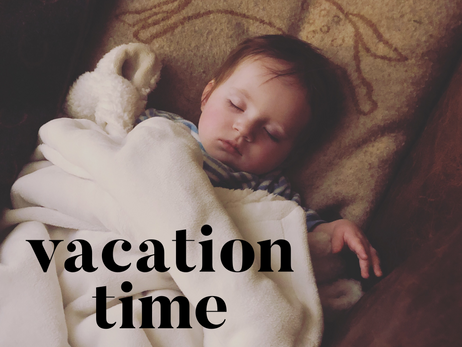 Day 75: vacation time