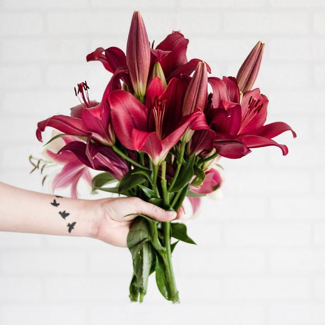 Bouquet de demoiselles d'honneur