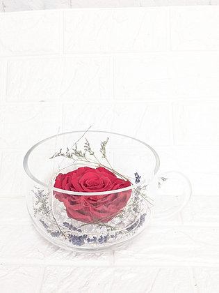 Large Eternal Rose in Mug