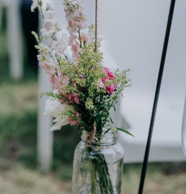 Chaise de cérémonie Fleurs