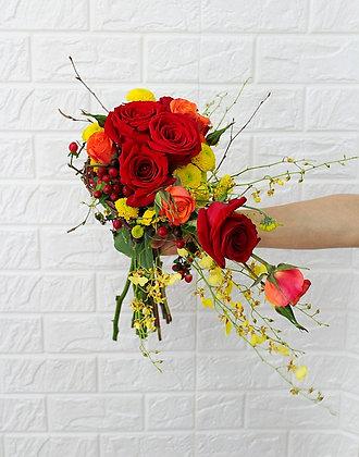 The Fire Bouquet