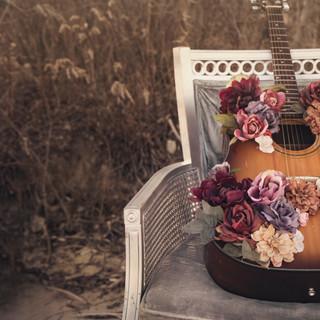 Guitar Flowers