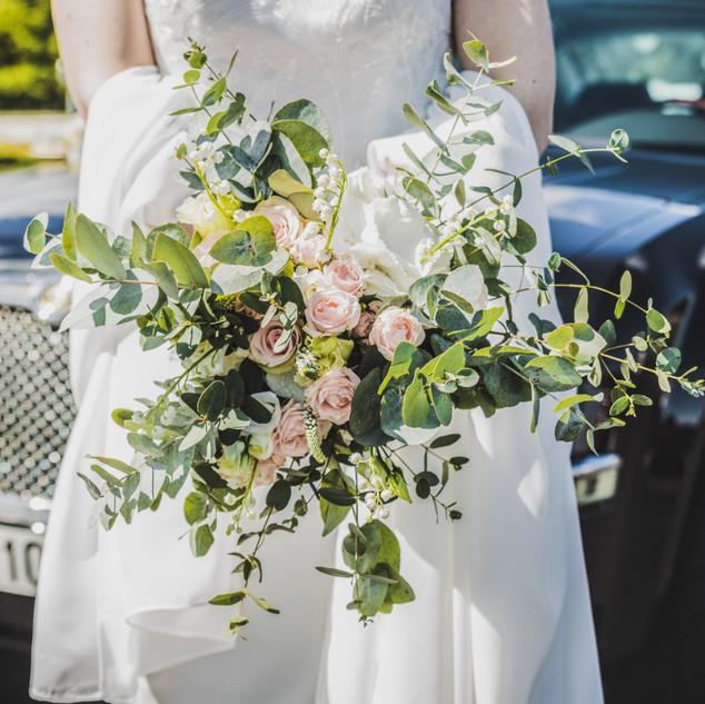 bouquet de fleur de mariée