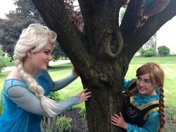 Snow Queen and Snow Princess