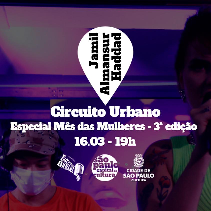 CIRCUITO URBANO - Especial Mês das Mulheres 5ª Live