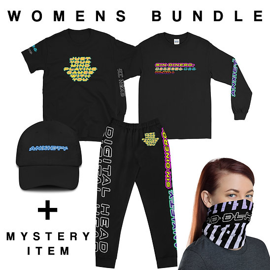 WOMENS ANXIETY / ALBUM COLLECTION BUNDLE