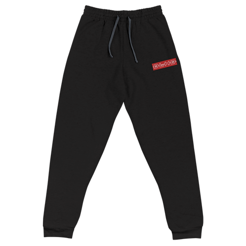 DLHD RED STITCHED LOGO UNISEX JOGGERS