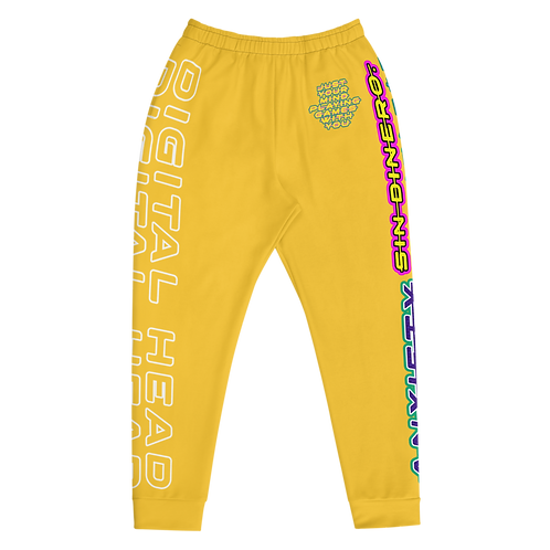 DLHD YELLOW MENS JOGGERS