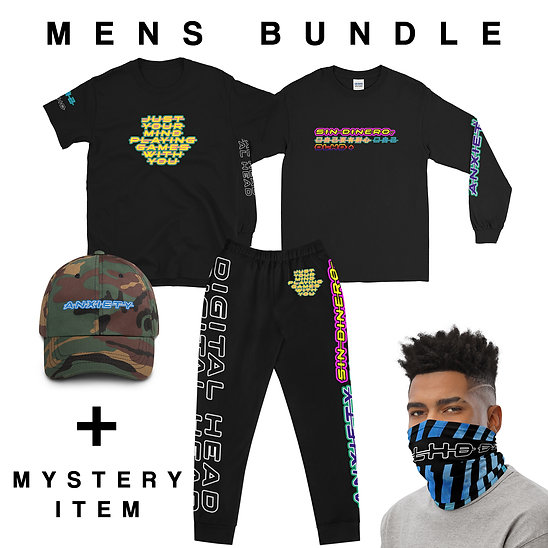 MENS ANXIETY / ALBUM COLLECTION BUNDLE
