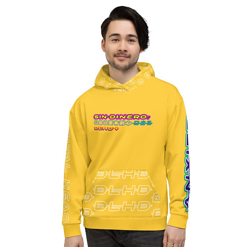 DLHD UNISEX HOODIE - YELLOW
