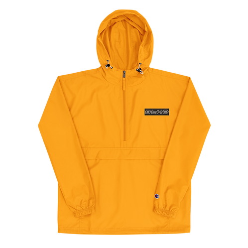 DLHD STICHED LOGO CHAMPION PACKABLE JACKET (UNISEX)