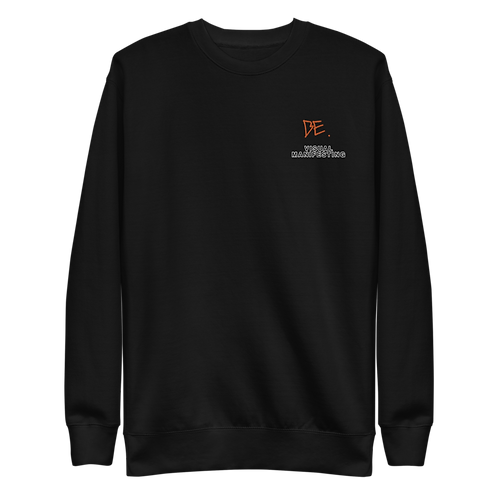 DLHD X BE. VISUAL MANIFESTING SWEATER STITCHED (UNISEX)