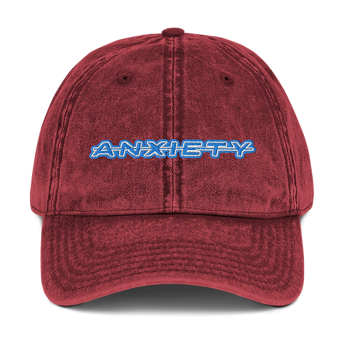DLHD ANXIETY VINTAGE COTTON CAP