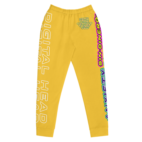 DLHD YELLOW WOMEN JOGGERS