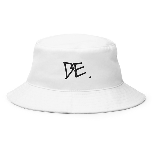 DLHD X BE. BUCKET HAT (WHITE)