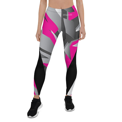 DLHD NEON PINK FRAGMENT LEGGINGS