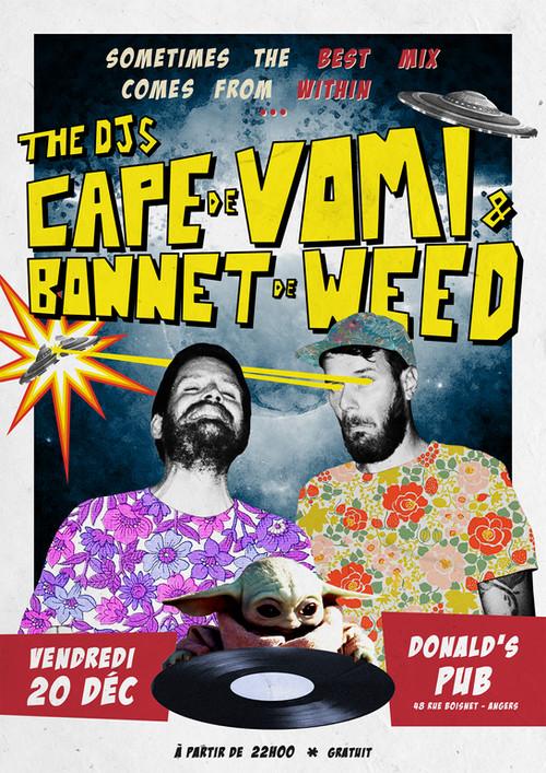 Cape de Vomi et Bonnet de Weed #2