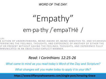 Word of the Day: Empathy
