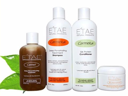 Natural Hair Using E'tae Products