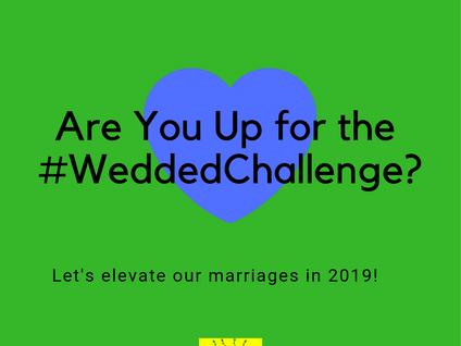 #WeddedChallenge