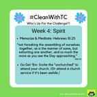 #CleanwithTC: Week 4