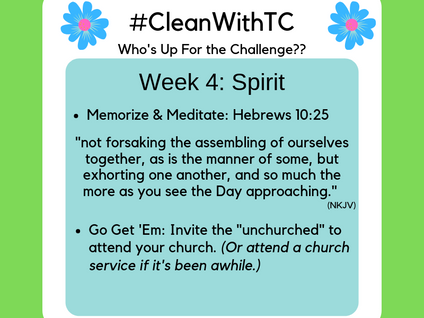 #CleanwithTC: Week 4