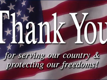 Thank You For Serving!