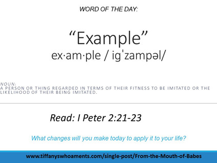 Word of the Day: Example