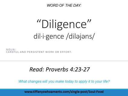 Word of the Day: Diligence