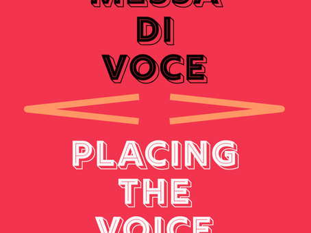 Messa di voce: The Great Balancer