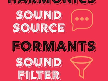 Harmonics v. Formants
