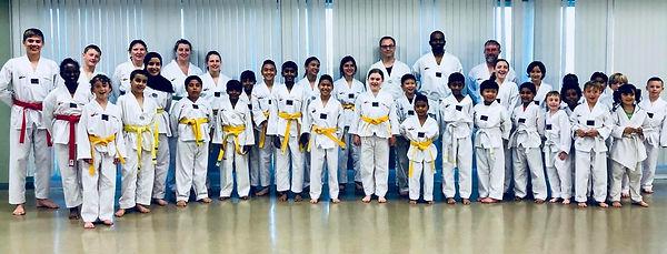 Liberty Taekwondo Test