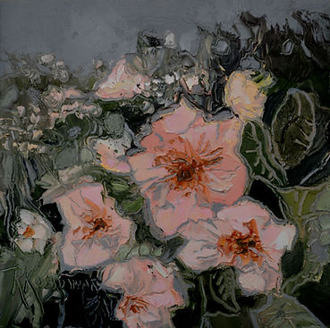 Kossowan, R. Thimble Berry Blooms, oil o